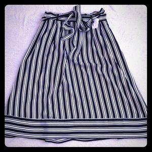 Banana Republic Striped Midi Skirt - 2